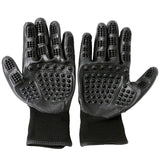 Bathing & grooming gloves in black