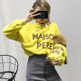 "Mommy and Me ""Maison Pere"" Cotton Sweatshirt (More Colors)"