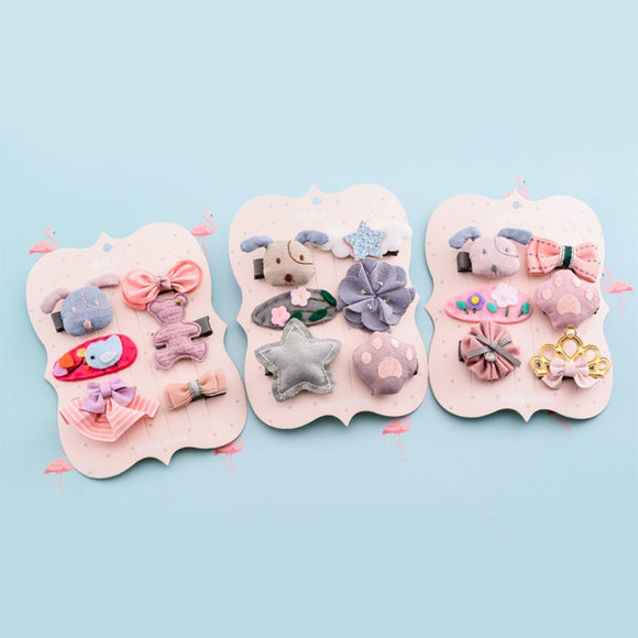 Hand Made Pet Hair Clips (Set of 6)