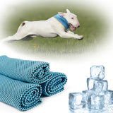 Pet cooling scarf