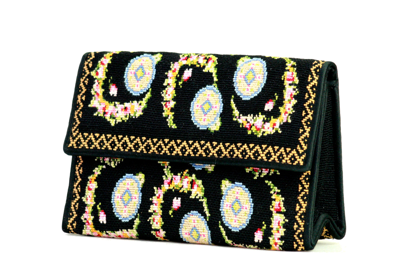 LOEWE embroidery evening handbag