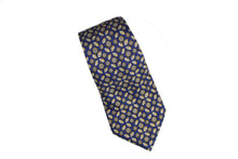 lemon HERMÈS blue lemon silk tie