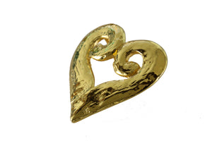 YVES SAINT LAURENT heart ring scarf