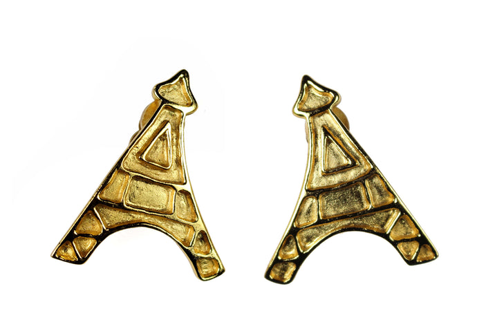 YVES SAINT LAURENT Eiffel Tower earrings