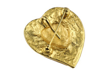 YVES SAINT LAURENT love heart brooch pendant