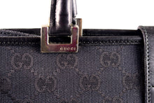 GUCCI black monogram canvas bag