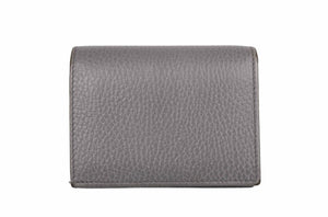 GUCCI gray leather wallet