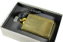 RODO golden clutch purse with braided wristlet