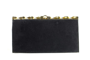 UBRIQUE black vanity purse bag