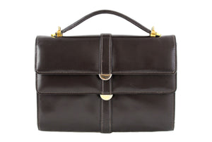 MORABITO small brown leather handbag
