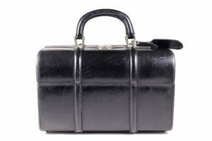 LOEWE leather travel vanity case