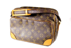 LOUIS VUITTON Nile monogram canvas bag