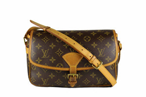 LOUIS VUITTON Sologne monogram canvas crossbody bag