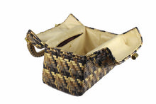 KORET multicolor wicker box purse handbag
