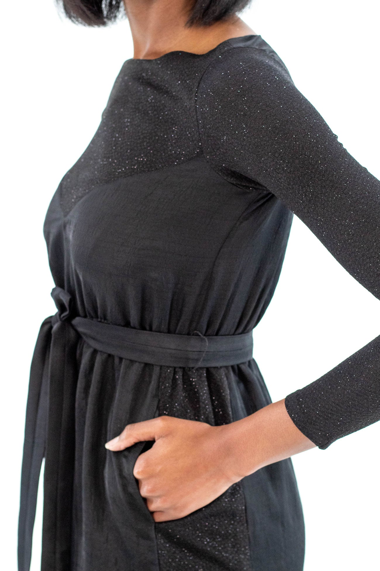 Black Semi-Formal Party Dress