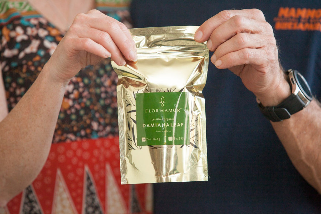 Damiana - Passion enhancing elevating dried leaf