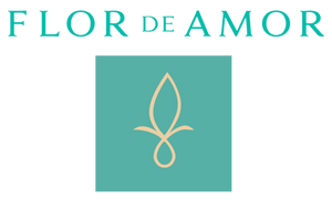 Logo of Flor de Amor, seller of Damiana essential oils, chocolates and kits providing damiana benefits