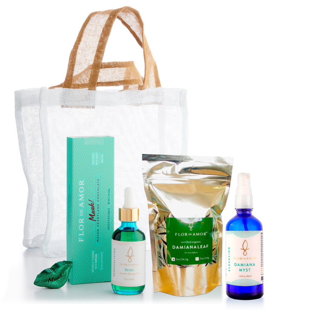 Body Love Pleasure Kit - Treat Your Body to Natural Passionate Arousal