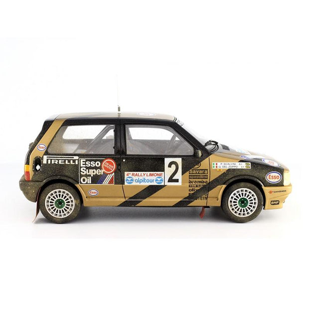 Fiat Uno Turbo i.e. Grifone Rally Limone 1987 Dirt