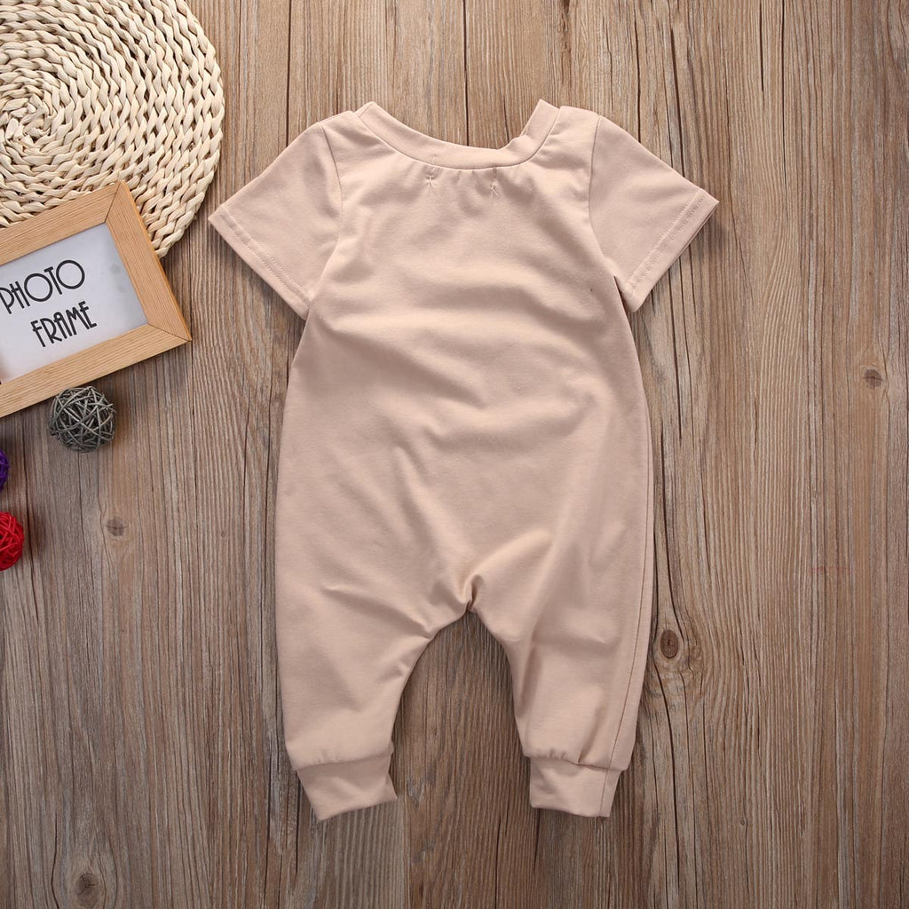 """Let's taco bout it""  Let's Talk About It Bodysuit 0-18M, Rompers & Jumpsuits - Hug Hug Baby"