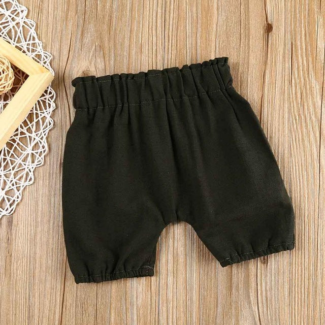 Fairy Tale Colours Mid Waist Loose Shorts 0-24M, Pants & Shorts - Hug Hug Baby