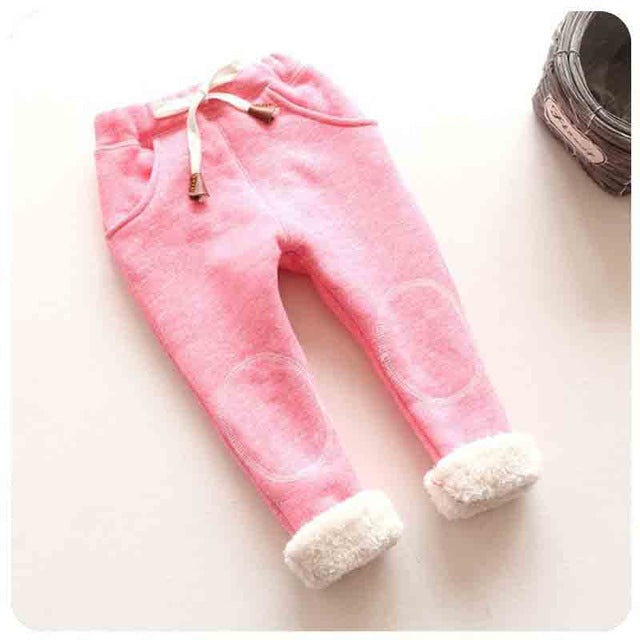 Warm Fluffy-Inside Comfy Pants 9-24M, Pants & Shorts - Hug Hug Baby