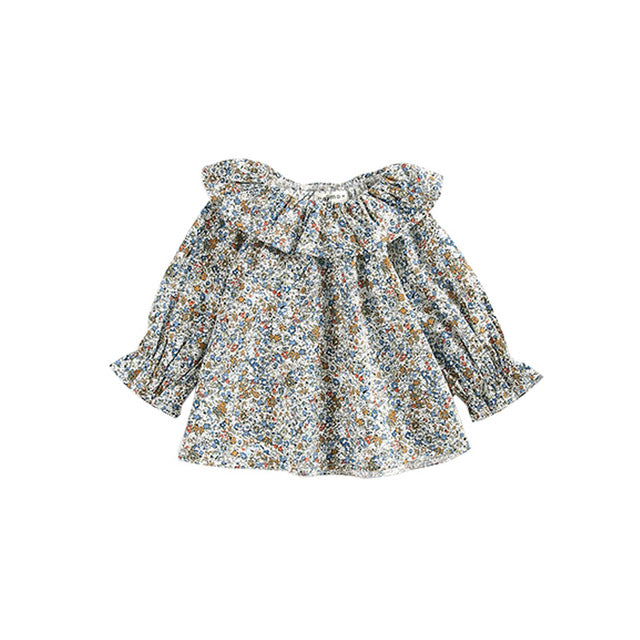 Loose Mini Floral Blouse 6-24M, Tops - Hug Hug Baby