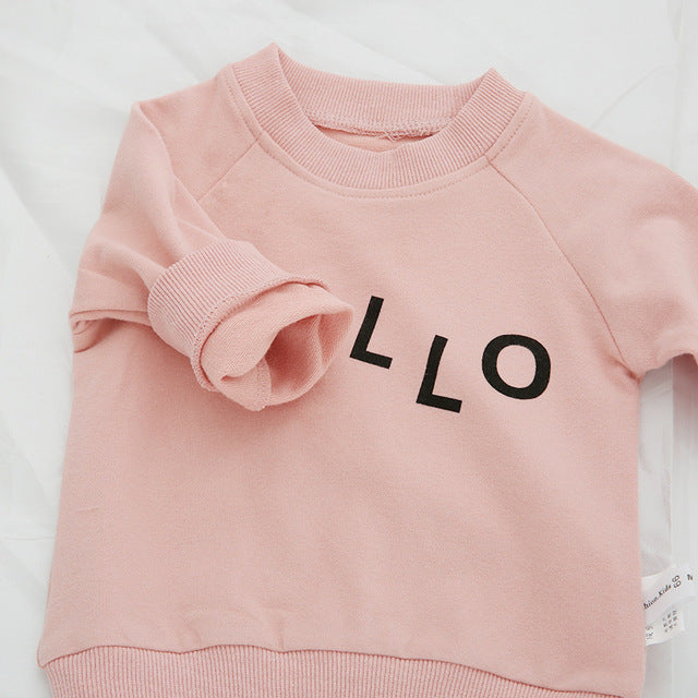 Hello Jumper 6-24M, Hoodies & Jumpers - Hug Hug Baby