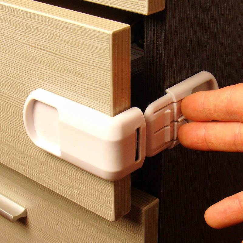 5pcs Plastic Safety Protection For Cabinets and Drawers, Care - Hug Hug Baby