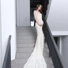 Shoulder Strap Lace with Long Fishtail Maternity Gown Dress, Photography - Hug Hug Baby