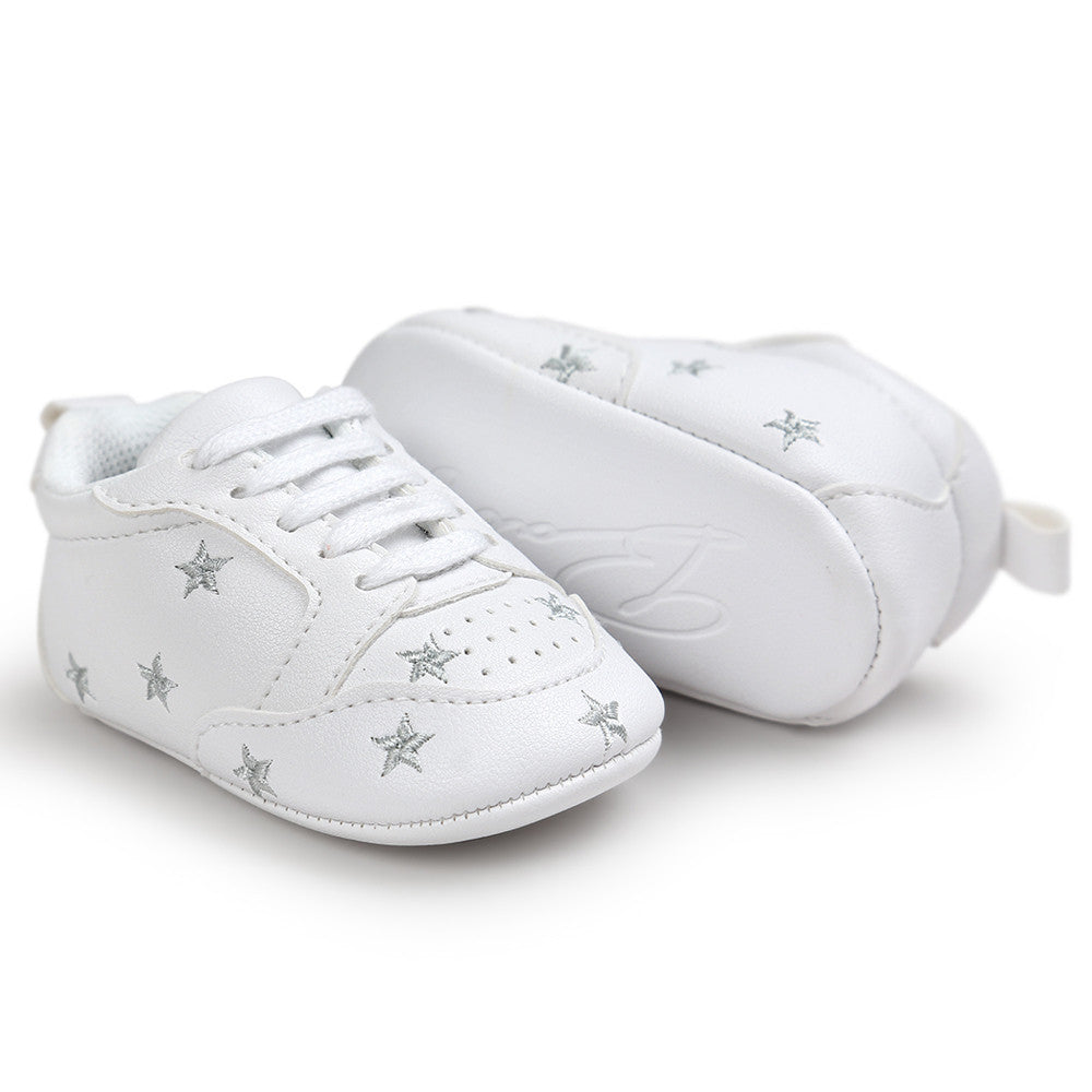 Baby Stars Soft Sole Sneakers, Shoes - Hug Hug Baby