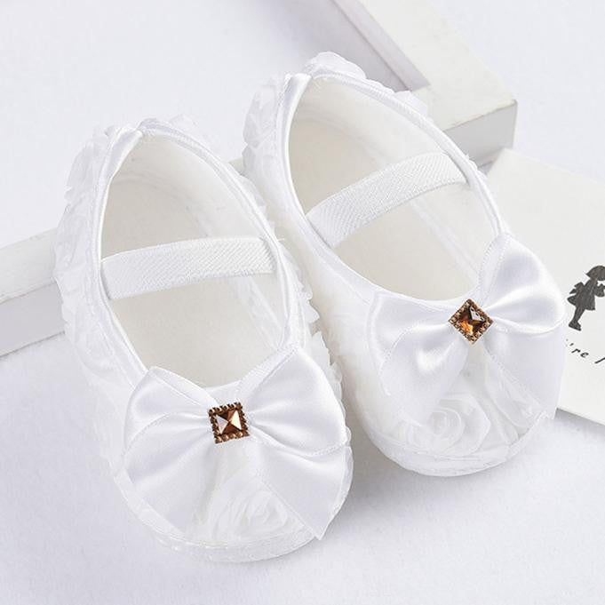 Baby Girls Elastic Band Shoes, Shoes - Hug Hug Baby