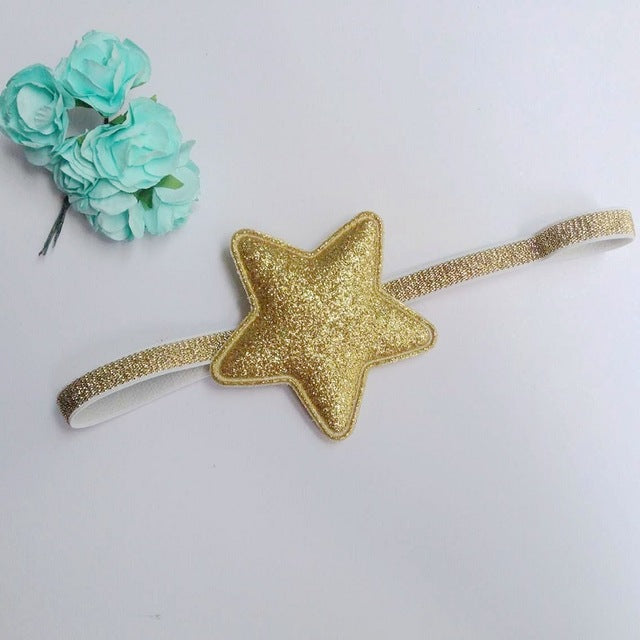 Glitter Star Hairband 6-24M, Headwear - Hug Hug Baby