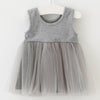 High Waist Tulle Sleeveless Dress 1-4Yr, Dresses & Skirts - Hug Hug Baby