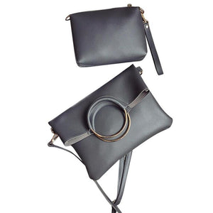 leather mini messenger bag