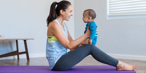5 Yoga Poses to Manage New Baby Stress
