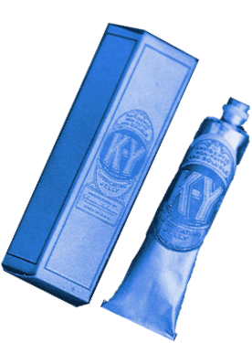 Tube of K-Y lube from 1904