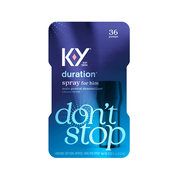 K-Y Duration Desensitizing Delay Spray for Men