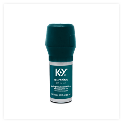 K-Y Duration Desensitizing Delay Gel Pump for Men