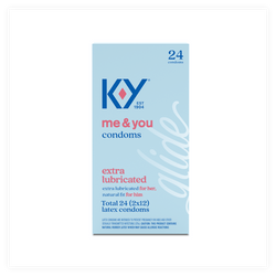 K-Y Extra Lubricated Condoms