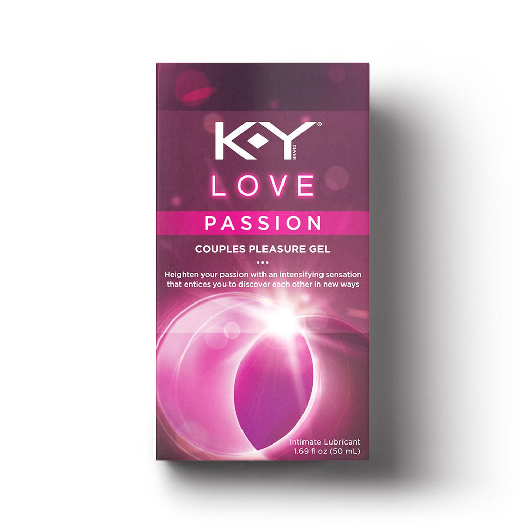 K-Y Love Passion Couples Pleasure Gel Lubricant