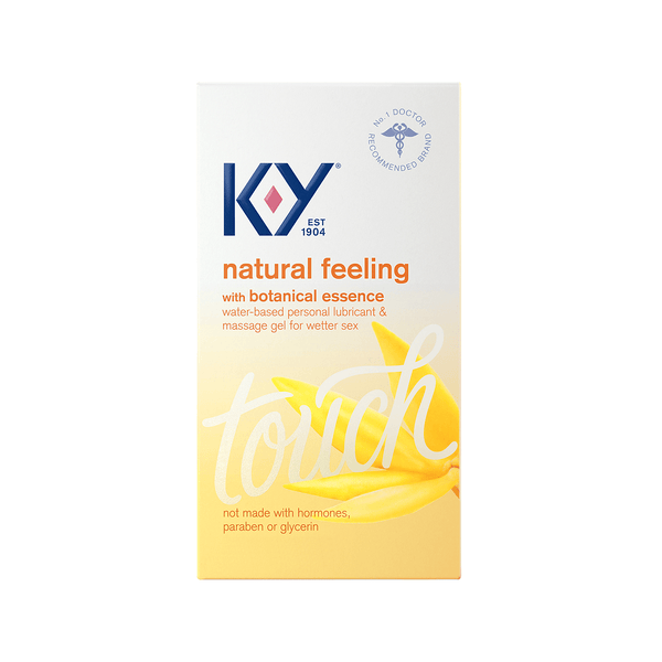 K-Y Natural Feeling Personal Lube & Massage Gel with Botanical Essence
