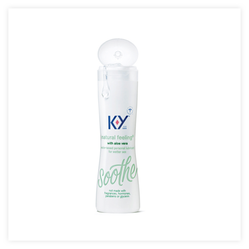K-Y Natural Feeling Personal Lube with Aloe Vera