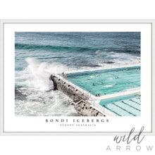 Load image into Gallery viewer, Bondi Icebergs Ii (With Title) Photographic