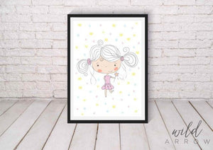 Fairy Girl A0 (84.1Cm X 118.9Cm) Kids & Nursery
