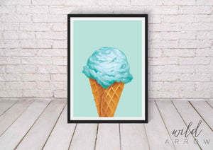 Hip Ice-Cream Prints Kids & Nursery