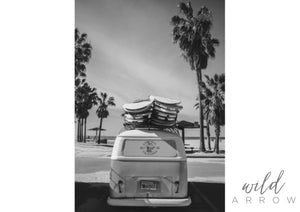 Kombi Van A1 (59.4Cm X 84.1Cm) / Black & White Photographic
