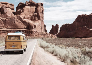 Travelling Kombi A1 (59.4Cm X 84.1Cm) / Colour Photographic