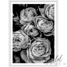 Load image into Gallery viewer, Vintage Rose - B & W Photographic