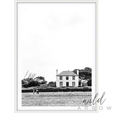 Load image into Gallery viewer, White Cottage - B&w Photographic